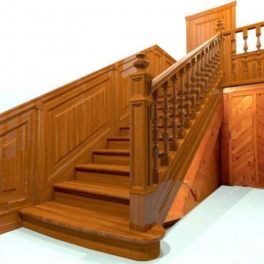Эксклюзивная лестница в классическом стиле г. Жуковский