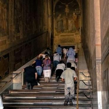 Судный ход Иисуса, или историческая лестница в первозданном виде