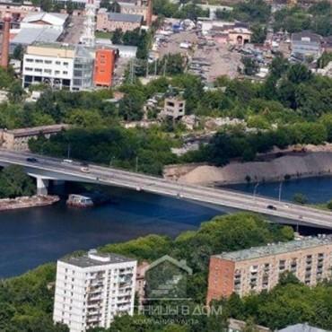 Новые лестницы с Шелепихинского моста