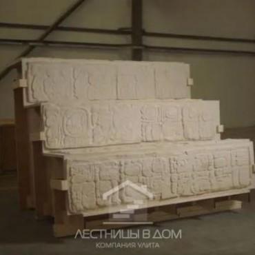 Британский музей возвращает к жизни древнюю лестницу майя - и обратно в Мексику
