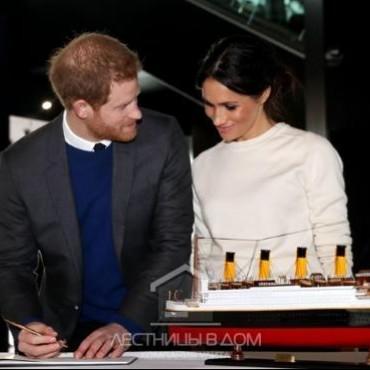 Кто заплатит за лестницу в доме принца Гарри и Меган Маркл?