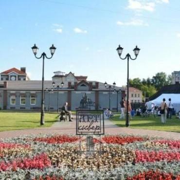 Арт-сквер в Иваново получит новую лестницу