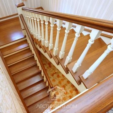 П-образная лестница с площадкой г. Люберцы