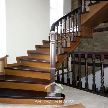 Обшитая бетонная лестница с пригласительными ступенями, г.Ногинск