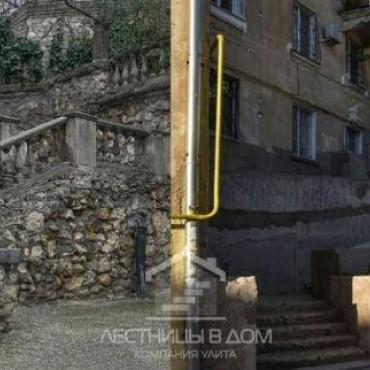 После возмущения севастопольцев лестницу на Суворова облицуют камнем