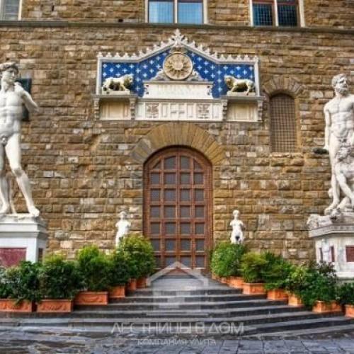 Реставрация лестницы Вазари в Палаццо Веккьо
